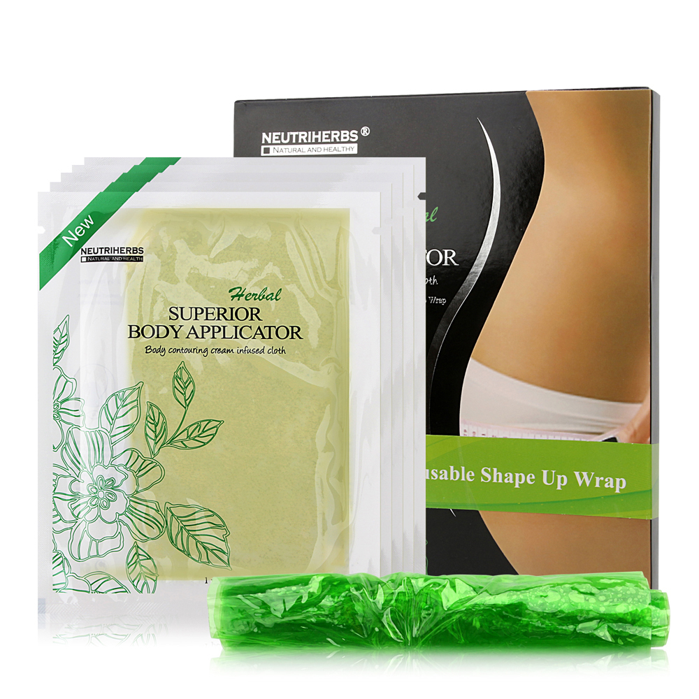 5pcs Wraps=1box Neutriherbs Weight loss Detox Body Wraps Body Applicators It Works Cellulite,Tone,Tighten Firming Slimming Pads