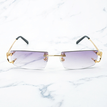 Trendy Small Square Sunglasses for Men and Women Red Sunglass