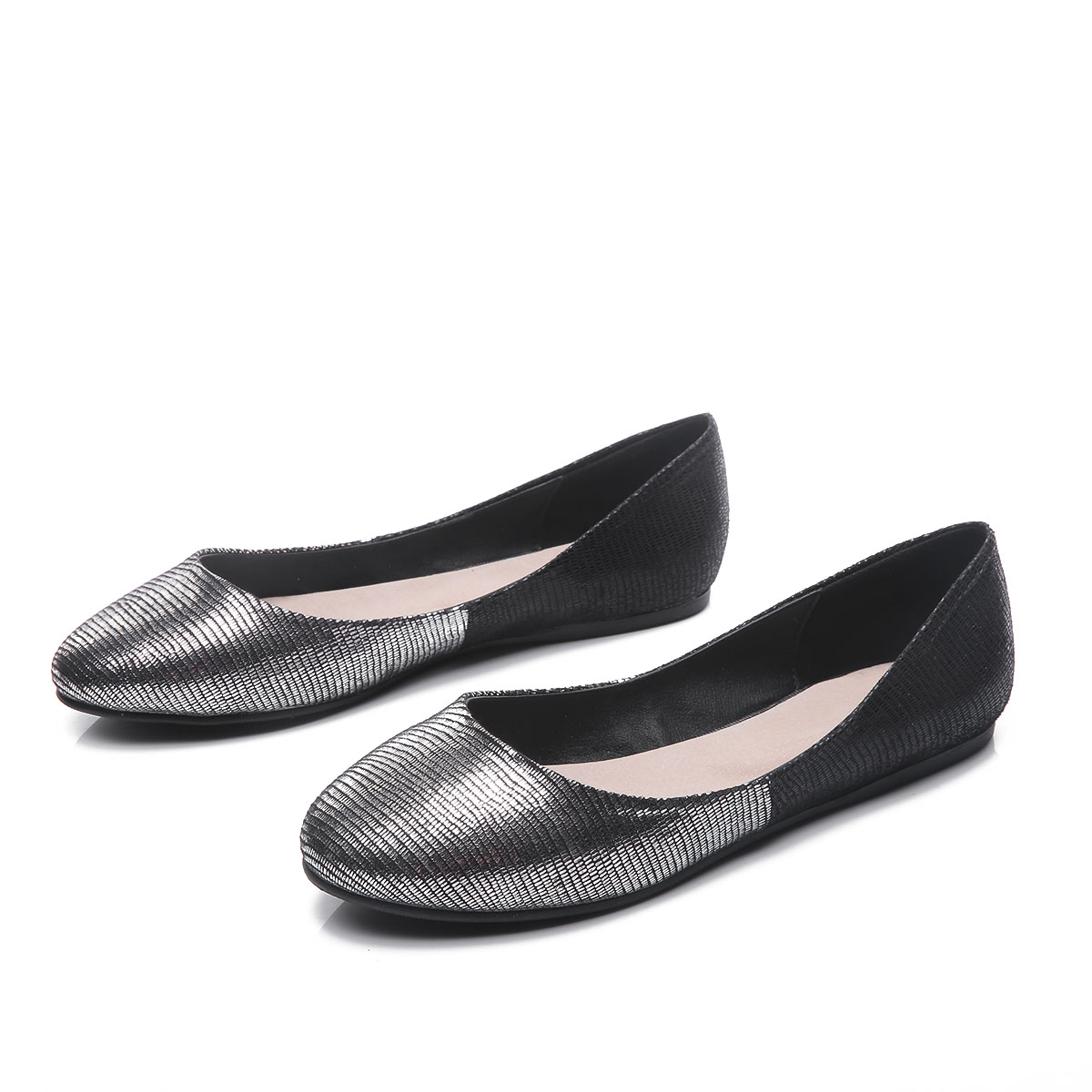 Ballet Flats Women Flat Shoes Woman Inner Material Genuine Leather Casual Shoe Sapato Womens Loafers Zapatos Mujer drfargo spring summer ladies shoes ballet flats women flat shoes woman ballerinas pointed toe sapato womens waved edge loafer