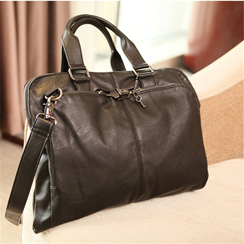 bolsa ocasional ombro bolsa bolsa Color1 : Black Briefcase