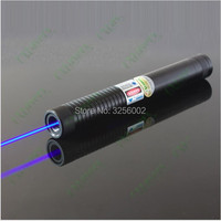 AAA 50000m 5in1 Strong Military Blue Laser Pointer SOS Flashlight Burn match candle lit cigarette Wicked Lazer Torch 50Watt