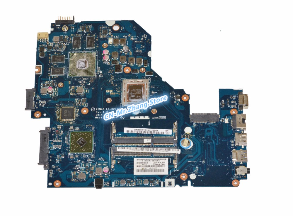 SHELI FOR font b Acer b font Aspire E5 551G Laptop Motherboard W FOR A10 7300