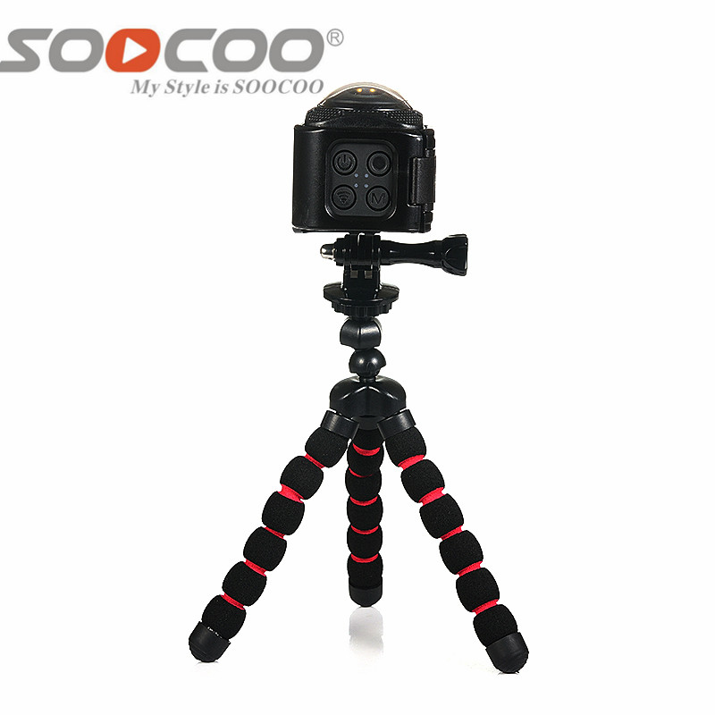 SOOCOO 360F UHD 4K Action Camera Wifi 1080P/30fps 20M Underwater Waterproof Camera Bicycle Cycling Mini Action Sports Camer