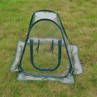 PVC Collapsible Greenhouse Greenhouse Mini Flower House Planting Cover Insect Proof Bird Cover