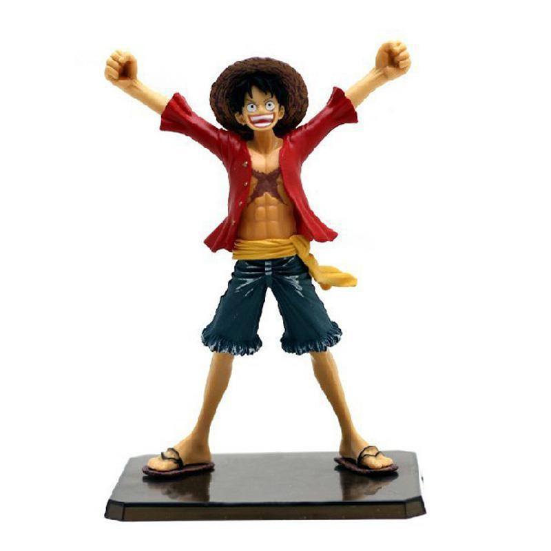 6 One Piece Luffy After 2 Years THE NEW WORLD PVC Action Figure Collection Model Toy without Original box Free Shipping original box sonic the hedgehog vivid nendoroid series pvc action figure collection pvc model children kids toys free shipping