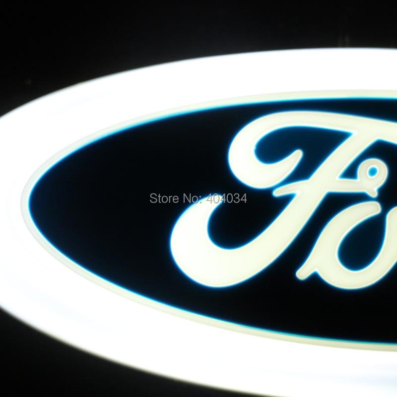 145x56cm 4d led car light for ford kuga fusion fiesta explorer escape ranger mustang mondeo galaxy - Ford Mustang Logo Images