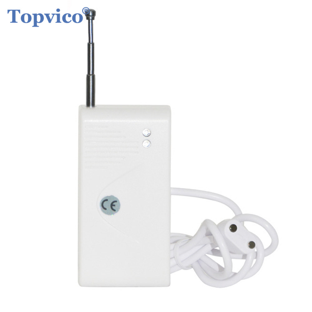 RF 433mhz Water Leak Detector Leakage Sensor Alarm Flood Sensor Detection Wireless Smart House Home Security GSM Alarm System