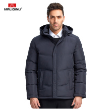 MALIDINU 2017 Men Fashion Duck Down Jacket Winter Casual Coat 70%White Parka European Size Free Shipping