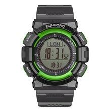 Fr822 женщины мужчины часы спортивные часы рыбалка цифровые часы шагомер новое поступление зеленый