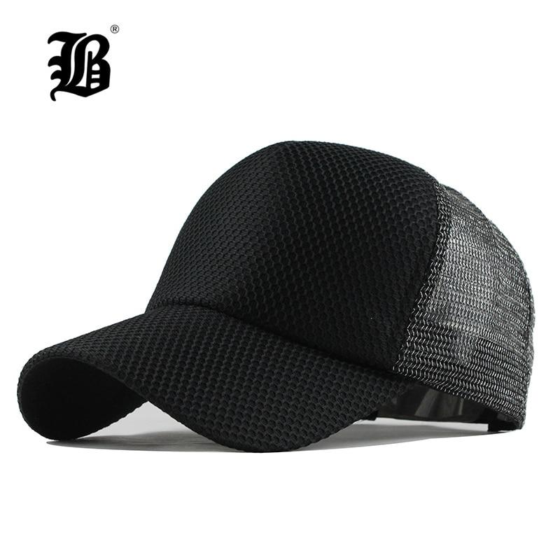 [FLB] Summer   Baseball     Cap   Embroidery Mesh   Cap   Hats For Men Women Snapback Gorras hats Casual Hip Hop   Caps   Dad Casquette F147