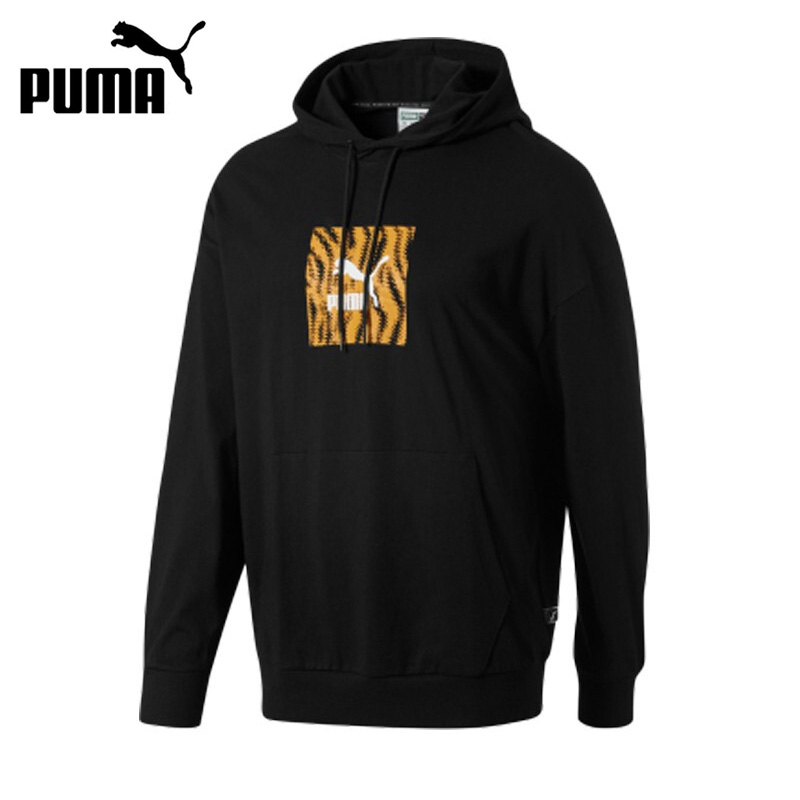 Original New Arrival  PUMA Camo Pack Shorts Men's Pullover Hoodies Sportswear