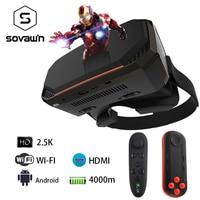 2K VR 3D Virtual Reality Glasses Goggle Helmet All In One VR Headset RK3288 2560*1440P IPS 5.5 2G RAM WIFI HD VR Box 3D Glasses