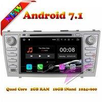 Wanuобычно 2G + 16 GB Android 7,1 автомобильный медиа центр dvd плеер для Toyota Camry 2007 2008 2009 2010 стерео радио gps навигатор двойной Din