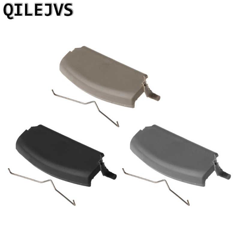 QILEJVS مسند ذراع للسيارات مزلاج غطاء الكونسول الوسطي غطاء مرآة مصمم للسيارة أودي A4 B6 B7 2002-2008 3 ألوان #1