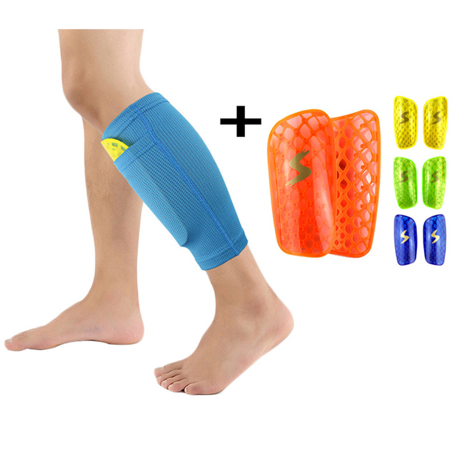 Soccer Shin Pads Guard Football Leg Support Sleeve Protector Skating Shank  Sports Men Women Shin 0e50c5932