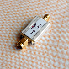 Free shipping FBP-FM 88~108MHz bandpass filter, FM broadcast band pass SMA interface, ultra small volume