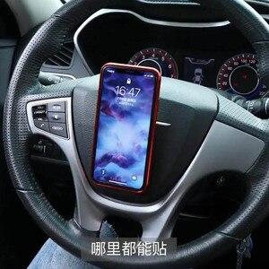 Image 4 - Etiqueta criativa mágica do telefone do silicone da etiqueta do carro titular universal casa fundamentos da vida, vem com um vídeo da introdução