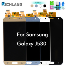 100% Tested J5 Pro J530 LCD Panel For Samsung J5 2017 J530 J530F LCD Touch Screen Assembly For J5 2017 J530 SM-J530F LCD Display цены онлайн