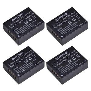 Image 1 - 4 Pcs 1260 mAh NP W126 NP W126 NPW126 Pin cho Fujifilm Fuji X Pro1 XPro1 X T1 XT1, HS30EXR HS33EXR X PRO1