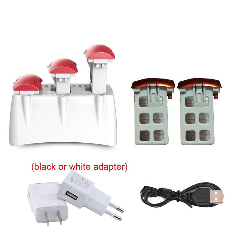 SYMA X5UC X5UW Drone Spare Parts 3.7V 500mAh Battery+ P10 Charger Cradle Charging Dock Base RC Quadcopter Parts