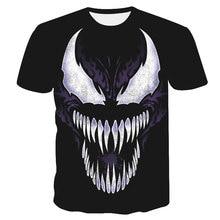 Spider Spider-Man Venom 3D Print T Shirts Men Compression Superhero Tops Costume Short Sleeve T-shirts