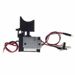 Image 5 - 電気ドリル防塵速度制御プッシュボタントリガーパワーツール DC 7.2 24 220v スイッチ