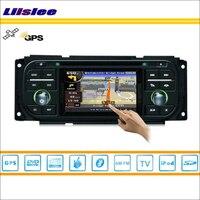 Liislee автомобильный Радио стерео dvd плеер gps навигация для Chrysler Sebring 2001 ~ 2006 ipod, USB Bluetooth HD экран мультимедийная система