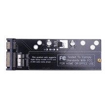 "6 + 12pin SSD כדי SATA ממיר כרטיס לוח עבור אפל 2010 2011 עבור MacBook אוויר A1370 A1369 SSD כדי 2.5 ""SATA 22pin"