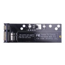 "6 + 12pin SSD do karty konwertera SATA dla Apple 2010 2011 dla MacBook Air A1370 A1369 SSD do 2.5 ""SATA 22pin"