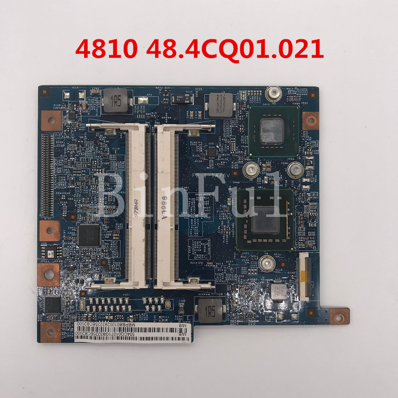 High quality For aspire 4810 de 4810 T Laptop motherboard 08266-2 48.4CQ01.021 HM57 DDR3 100% full Tested