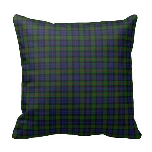 Excellent Murray font b Tartan b font Plaid Pillow Case Size 20 by 20 Free Shipping