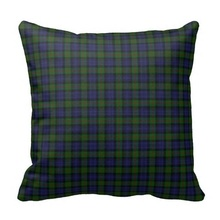 Excellent Murray Tartan Plaid Pillow Case (Size: 20″ by 20″) Free Shipping