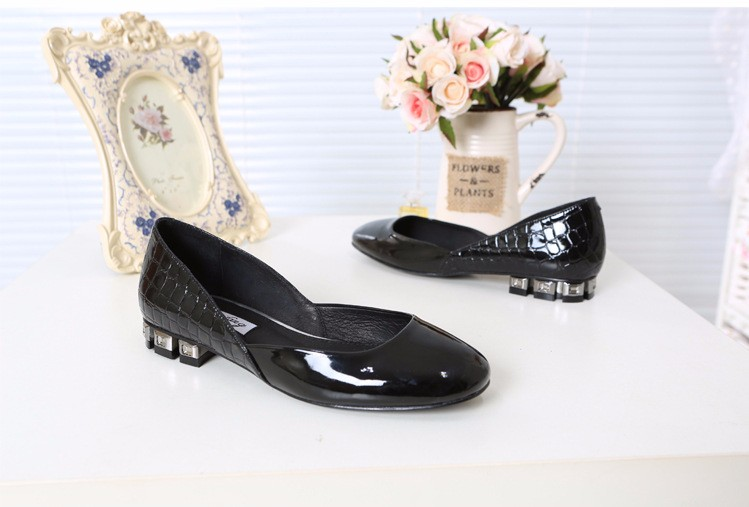 Flats Patent Leather Shoes 2016 New Arrival Casual Women Flat Shoes Summer D\'orsay Flats Plus Size 34-43 Ladies Shoes PX79 (28)