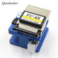 Qualmaker Optic Fiber Cleaver FC 6S FTTH Fiber Optic Equipment Tools Cable Stripping Cutter Cold Aluminum