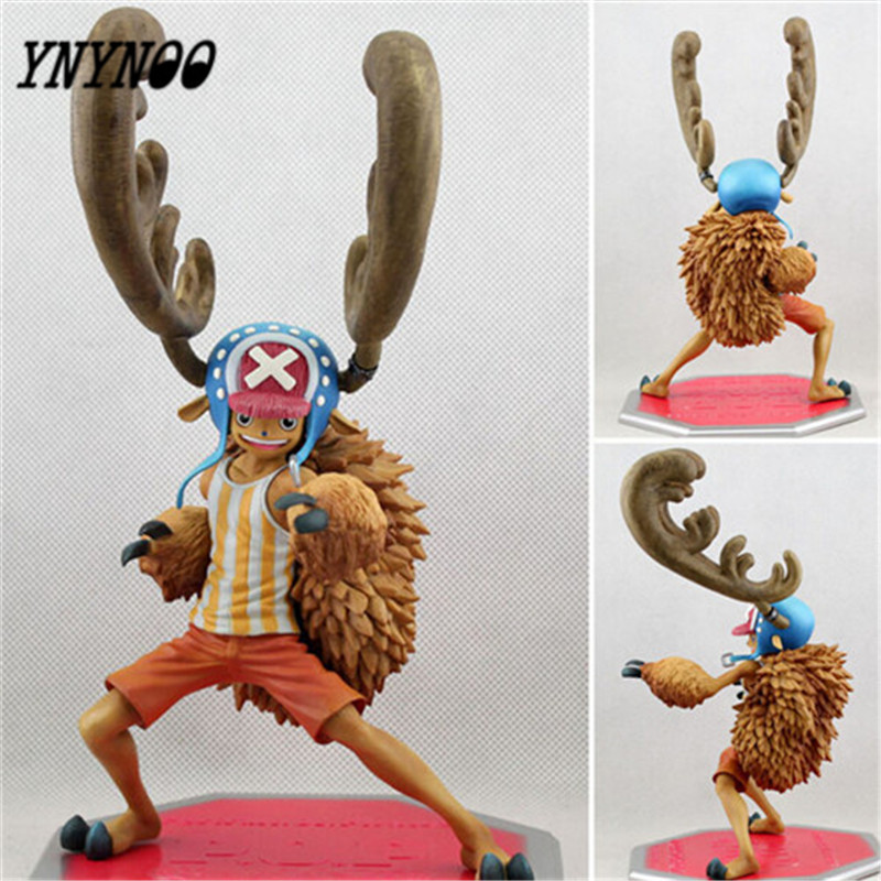 YNYNOO 18cm One Piece Anime Tony Tony Chopper One Piece Figure Action Figures Anime PVC Brinquedos Collection Figures Toys T51 hot sale 26cm anime shanks one piece action figures anime pvc brinquedos collection figures toys with retail box free shipping