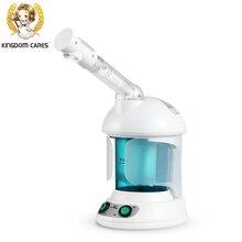 REINO SE PREOCUPA de la Niebla Caliente Vapor Facial Aceite Esencial de Aromaterapia Humidificador de Vapor de Esterilización de Ozono Lonic Piel KD-2328