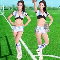 Новые зимние студенческие спортивные удовлетворения, черлидинг Танцы, корейский производительность, одежда, взрослая Черлидинг одежды