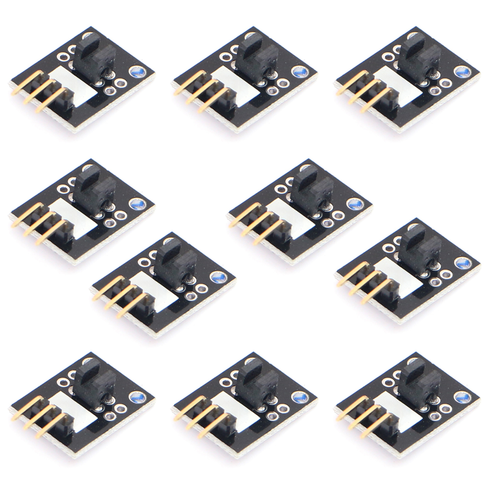 Smart Electronics10pcs/lot KY-010 Broken Light Blocking Photo Interrupter Sensor Module For Arduino AVR PIC DIY Starter Kit