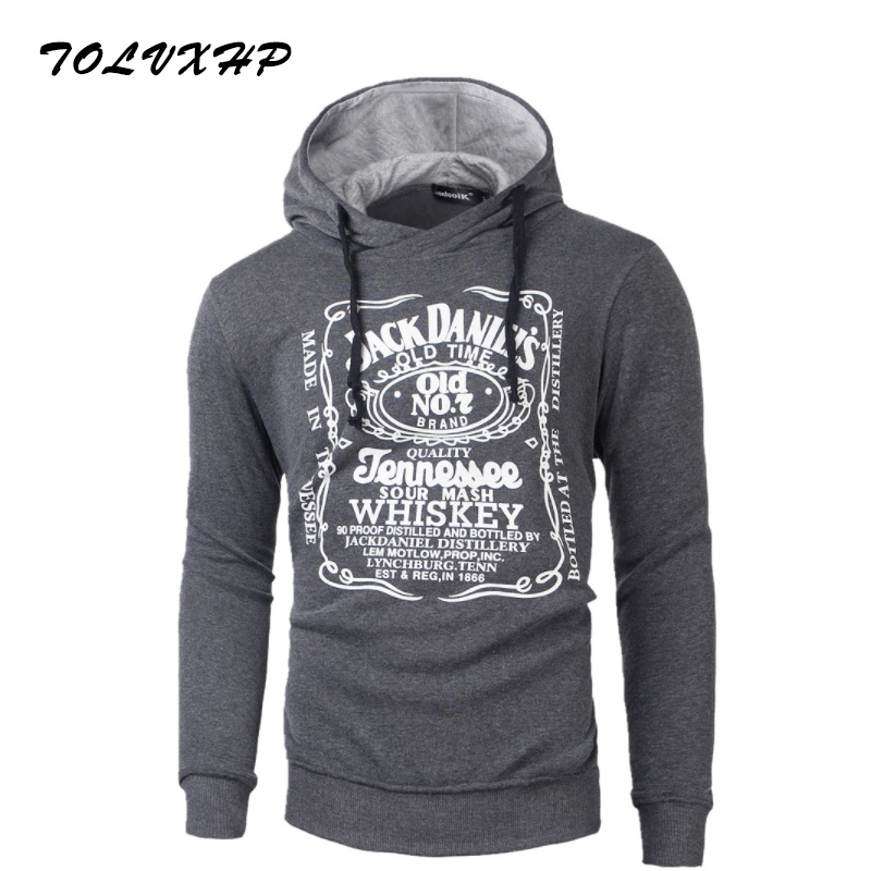 2018 Sweatshirts Tracksuit Men Fashion Hip Hop Hoodies Pullover Sweat Shirt Black Tide Print Men Women Moleton Puls Size 2XL
