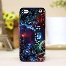 Capa, pz0021-3 Heroes of the Storm Design de celulares casos transparentes para o iphone 4 5 5c 5S 6 6 mais difícil Shell