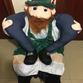 on bearded Oktoberfest Costume Animal Funny Dress Up Fancy Pants Novelty Mascot Custome