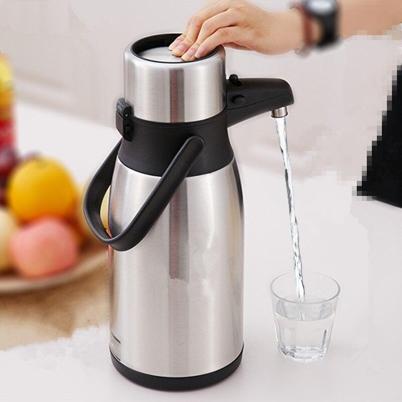 304 In Acciaio Inox coibentato Thermos Bottiglia di vuoto Termo tazza di Caffè caffettiera Termica bollitore 2.5L, 3L Boccetta di Vuoto Termico