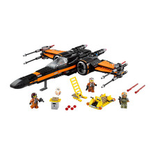 Intellectual development 748Pcs Star Wars First Order Poe's X-wing Fighter Building Blocks Compatible Toys Assembled Fighter