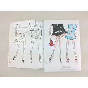 Image 4 - Clothing design hand painted course books for Draw your fashion illustrations textbook
