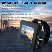 Смарт 8MP CCTV тестер IPC 1800 Plus H265 264 руководство 4 дюйма 4K устройство безопасности IP камера монитор с wifi AHD/TVI/CVI CVBS