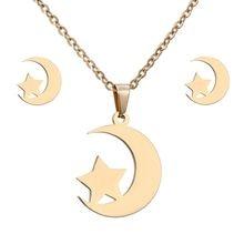 c15e04d6f777 Encantos de la joyería conjunto Animal caballo libélula joyería de la boda  de las mujeres de oro de joyería de Color de acero in.