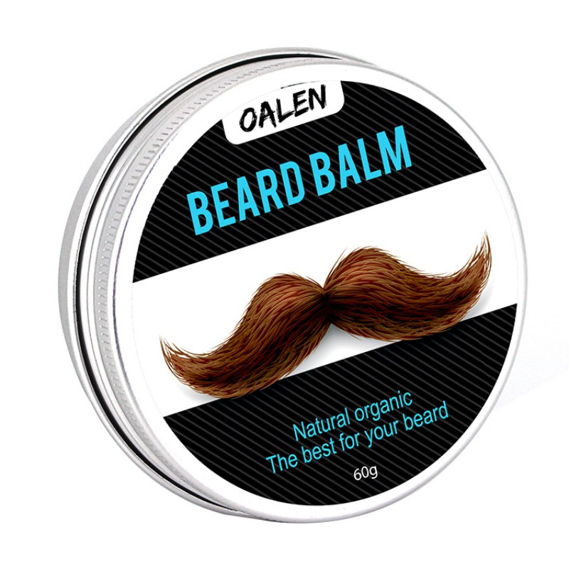 Natural Beard Hair Nutritious Conditioner Leave Wax Balm Organic Beard Styling Moisturizing Effect Beard Care For Gentlemen H8