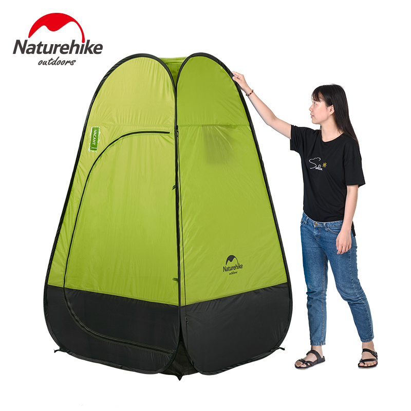 Waterproof Single Layer Camping Tents Portable Outdoor Automatic Opening Fishing Tent PU2000mm For Shower Toilet Dressing high quality outdoor 2 person camping tent double layer aluminum rod ultralight tent with snow skirt oneroad windsnow 2 plus