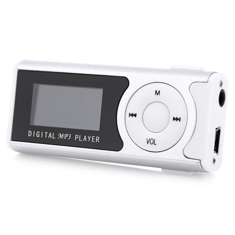 New Mini Portable Storage 1 1 Inch LCD Screen MP3 Player With LCD Screen Support 32GB