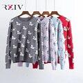 RZIV 2016 осенью и зимой отдых женский щенок жаккардовые свитер